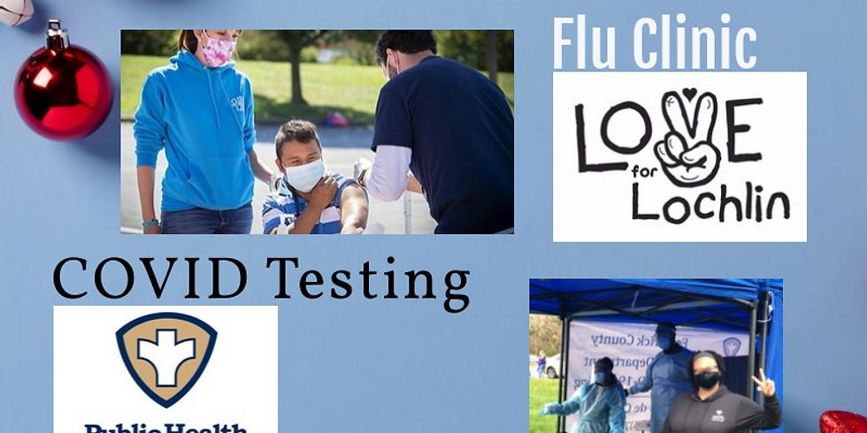Flu Clinic Rt. 40 12/7/2020