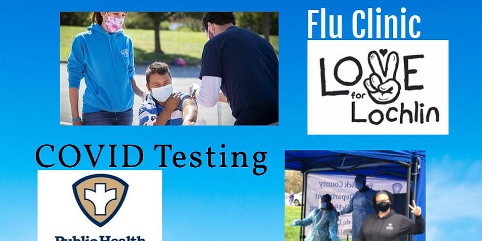 Flu Clinic Tuscarora HighSchool