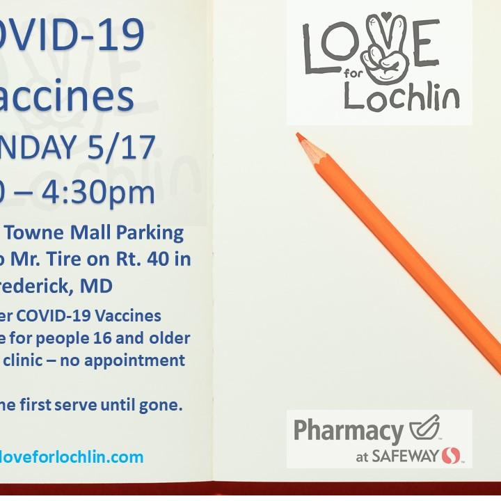 COVID-19 Vaccine Clinic Rt 40