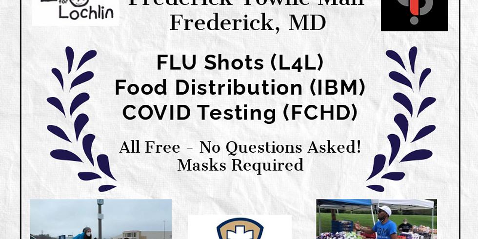 Flu Clinic Rt. 40 1/25/2021