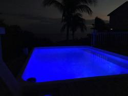 Blue Pool Color _night