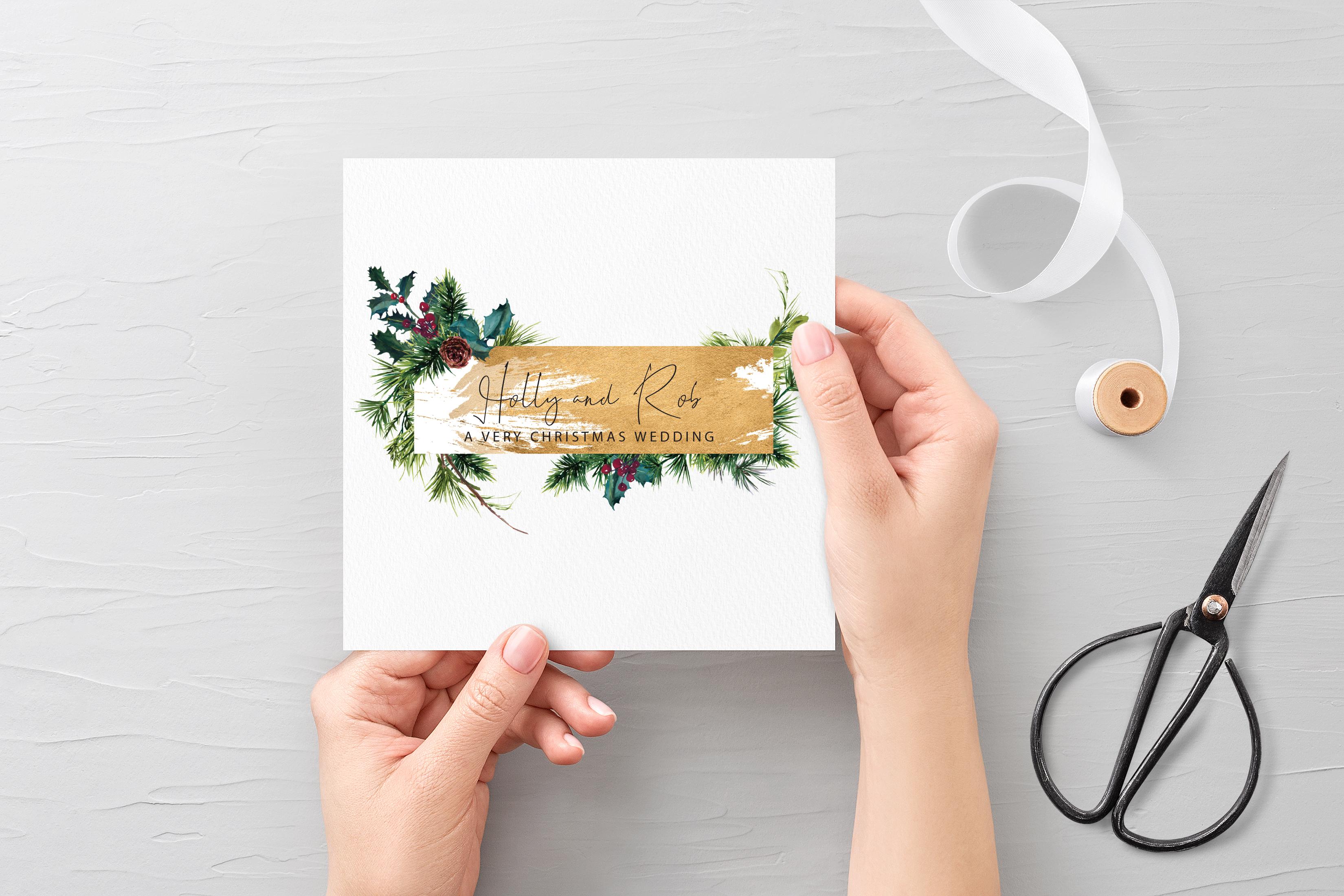 'December' Invitation