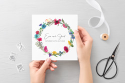 Wildflowers Invitation 2
