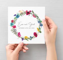 Wildflowers Invitation