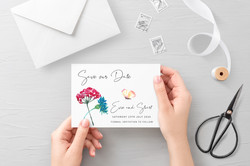 'Wildflowers' Save the Date