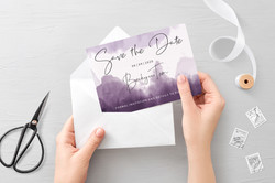 'Ombre' Save the Date