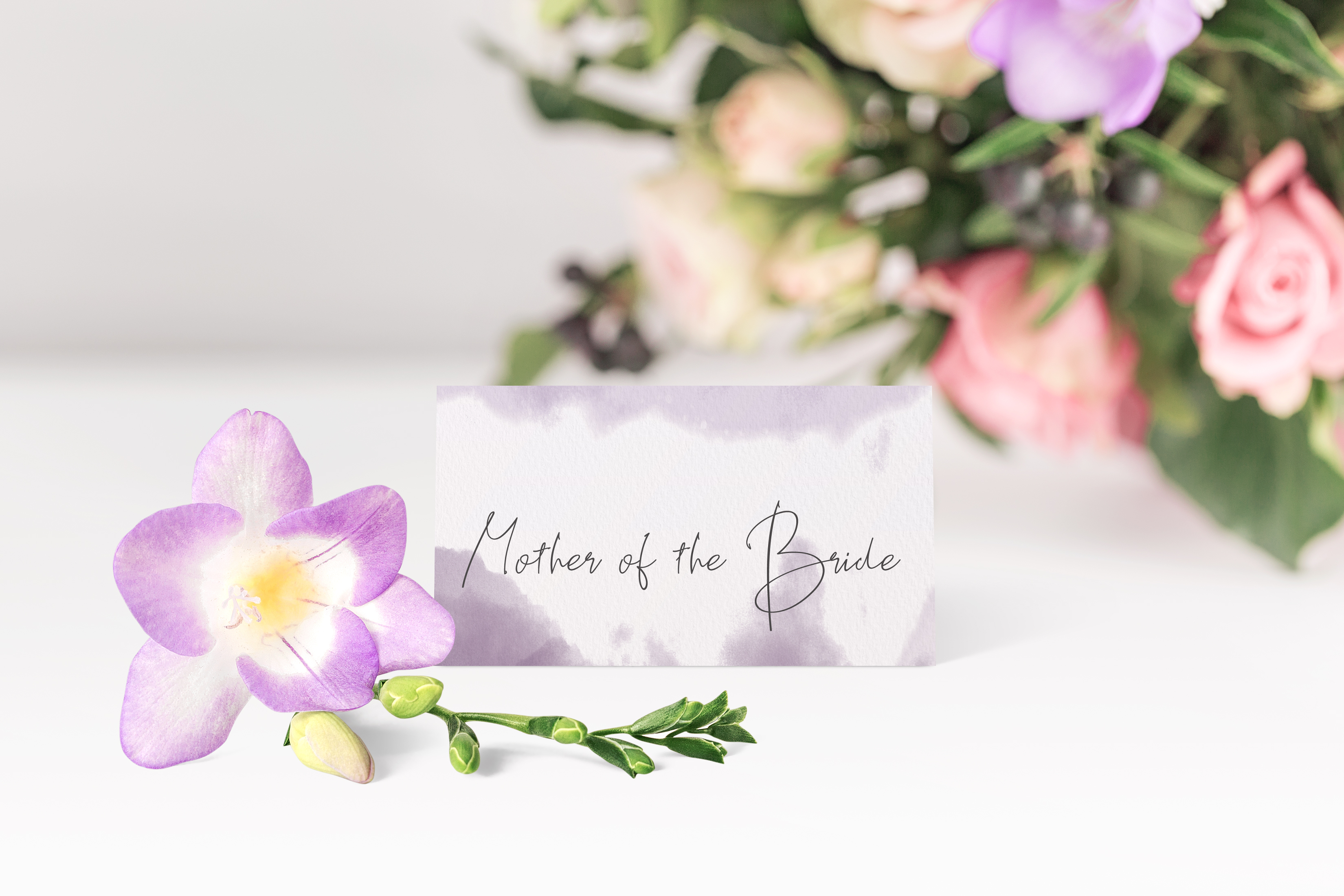 'Ombre' Place Card