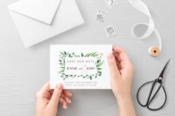 'Eucalyptus' Save the Date