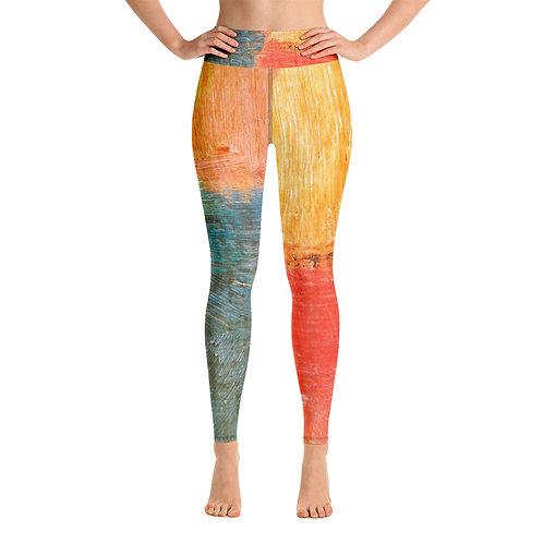 Papaya Yoga Leggings
