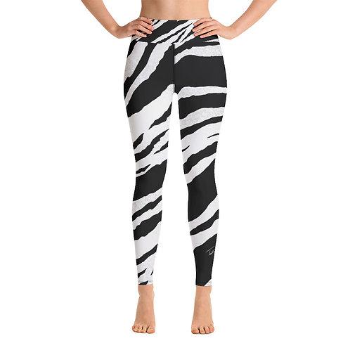White Tiger Yoga Leggings