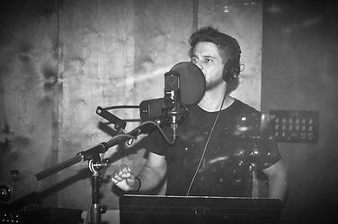 Drey-C in studio kds music orlando