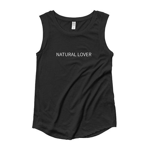 Natural Lover Ladies' Cap Sleeve T-Shirt