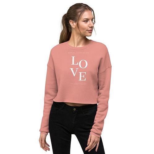 Love Crop Sweatshirt