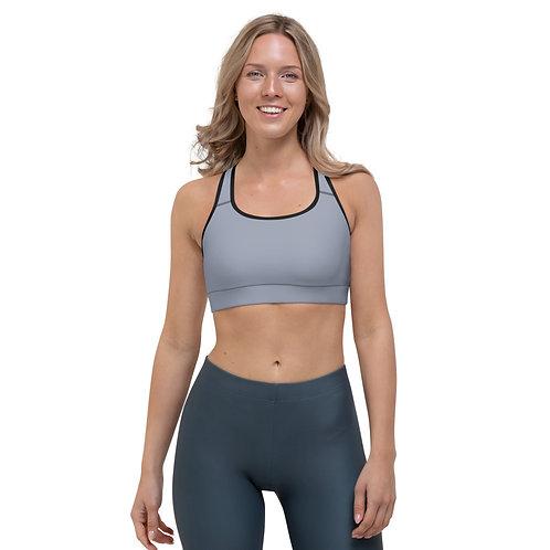Sleet Timeless Gray Sports bra