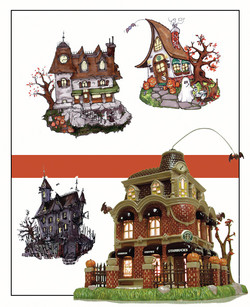 Theme park and seasonal designs