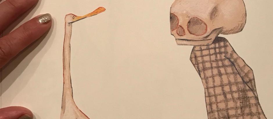 La sacralità della morte in un racconto per bimbi, nella saggezza dell'ironia, nel sostegno floreale