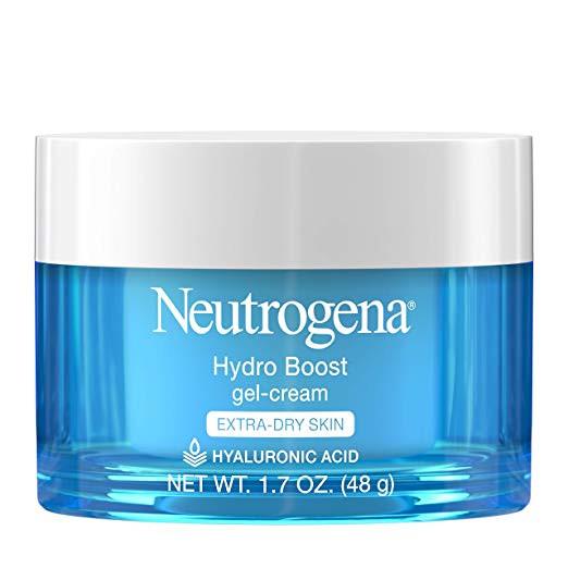 Neutrogena hydro boost gel cream moisturizer for extra dry skin with hyaluronic acid