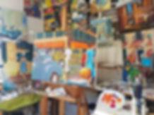 Atelier de Patrick Sanchez
