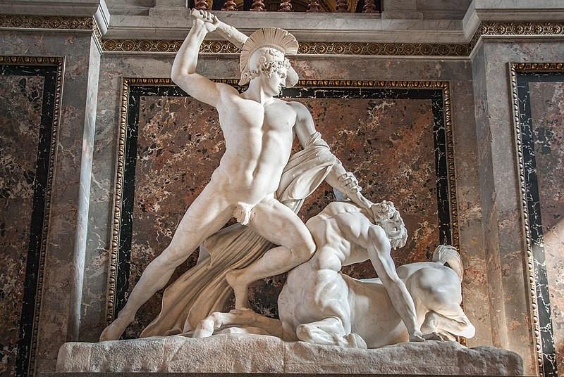 Antonio Canova - Teseo defeats the centaur - Kunsthistorisches Museum Wien - Vienna Austria