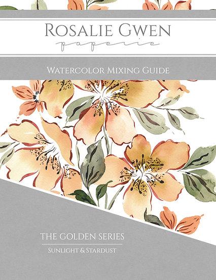 Watercolor Mixing Guide - Golden Series