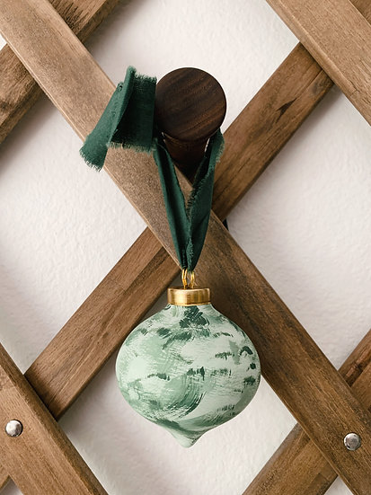 Hand-painted Christmas Ornament