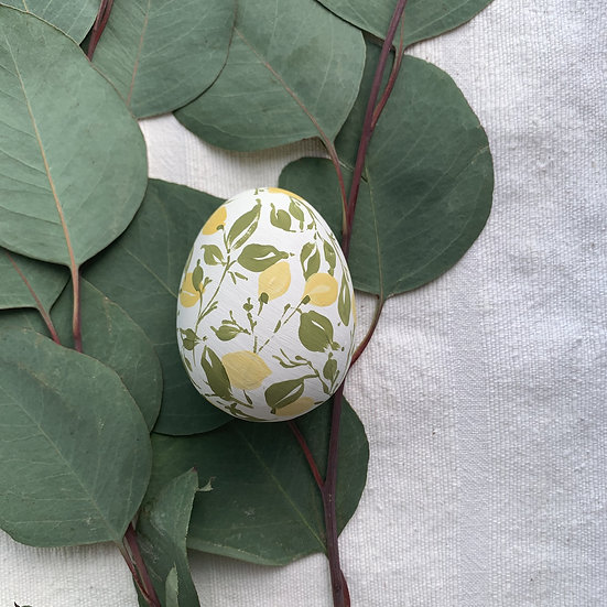 Hand-Painted Easter Egg