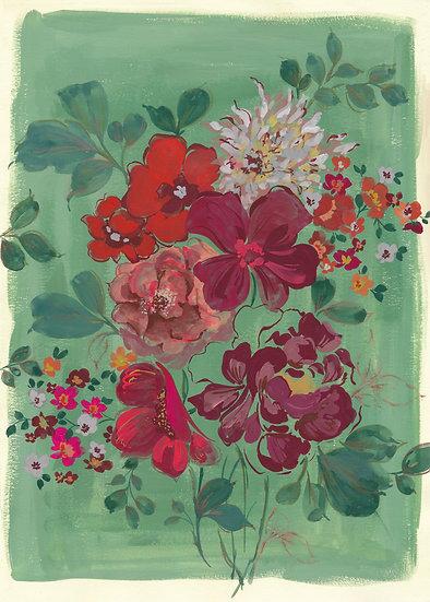 Original [In The Meadow] (Set of Three Paintings)