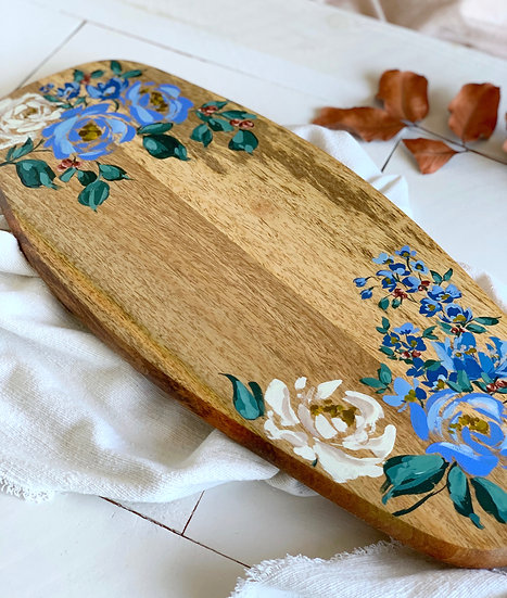 Hand-painted Charcuterie Board