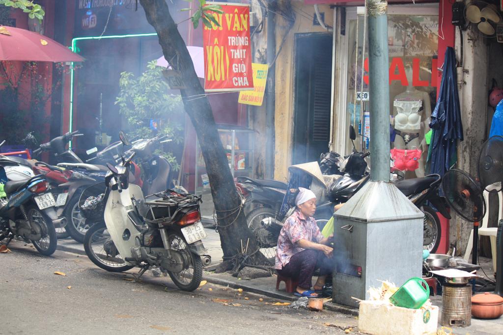 cucina ristorante di strada