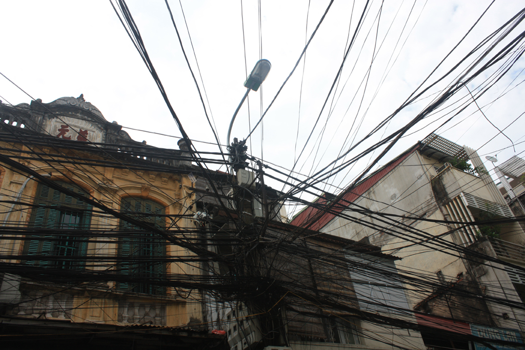 hanoi - impianto elettrico