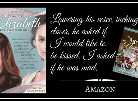 J. Marie Croft's on Her Coming of Age Elizabeth Story
