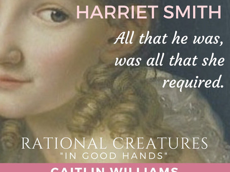 Author Caitlin Williams Talks of Harriet Smith at More Agreeably Engaged Blog