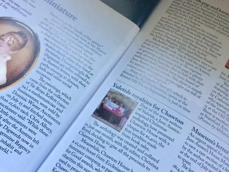 YULETIDE Made the Jane Austen Regency World Magazine NEWS