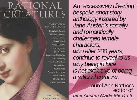 AUSTENPROSE Names #RATIONALCREATURES to Best Austenesque Fiction 2018
