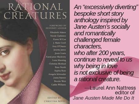 AUSTENPROSE Names #RATIONALCREATURES to Best Austenesque Fiction 2018