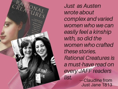 #RationalCreatures Release Day Review from Just Jane 1813