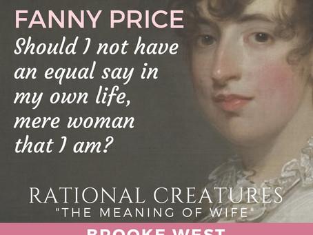 Fanny Price: A Protofeminist?