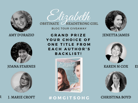 #OmgItsOHG Blog Tour ends March 31