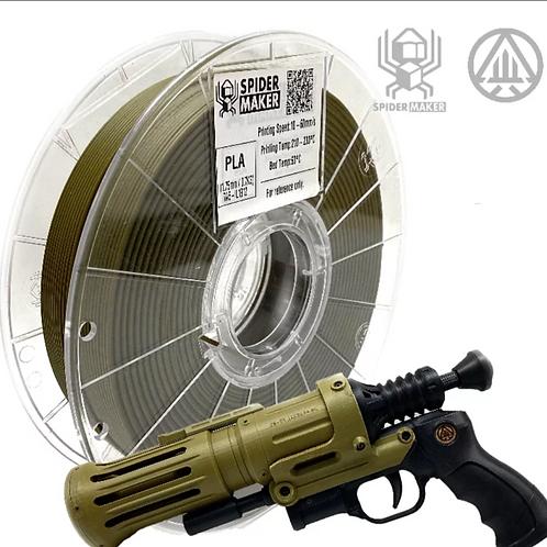 3D列印線材-PLA-消光軍綠色 Matte Army Green