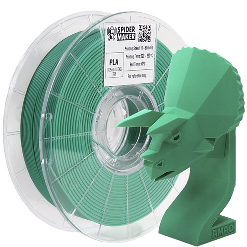 3D列印線材-PLA-消光石綠 Emerald Green