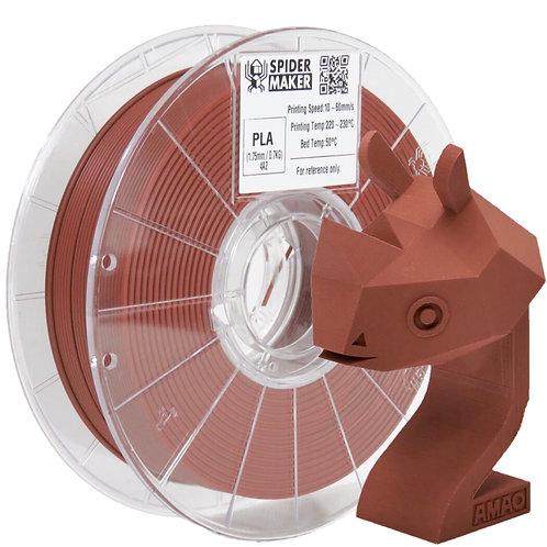 3D列印線材-PLA-消光瓦紅 Brick Red