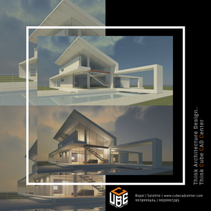Learn architecture design at Cube CAD Center