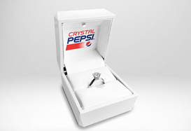 Prepare Your Proposal—Pepsi Debuts Diamond Engagement Ring Made With Crystal Pepsi