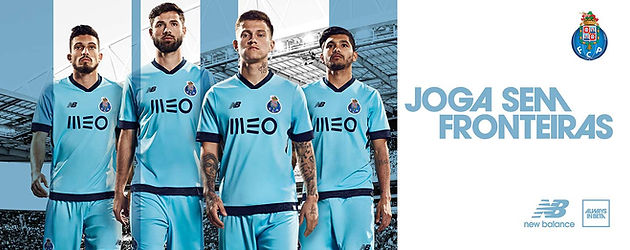 4a70b48265ad4 New Balance, the brand and FC Porto released today their third jersey for  the 2017/18 season