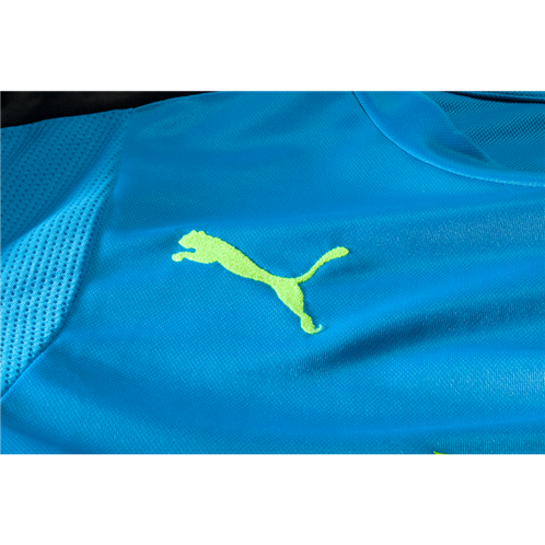 6cca5ebc808 PUMA Arsenal BLUE Long Sleeve Goalkeeper Jersey 16/17