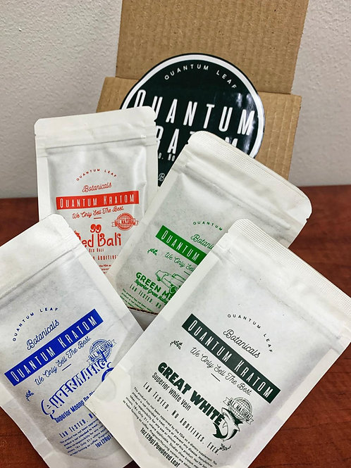 Quantom Kratom Powder Sample Pack