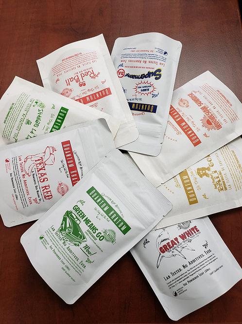 Custom Sample Pack 4 one-ounce powder packs
