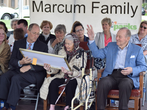 Marcum family gives back to the city