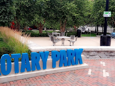 The Beautiful Rotary Park!