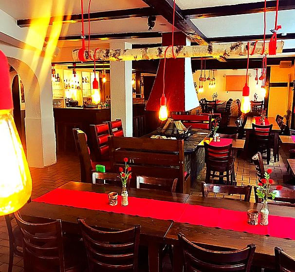 Kaminofen Mainz kamin flammkuchen restaurant bar in der mainzer altstadt